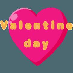 Valentine day.