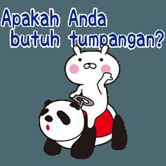 おぴょうさ9シンプル生活3インドネシア語