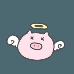 [LINEスタンプ] ぶーぶの日常 (1)
