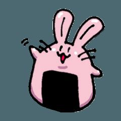 [LINEスタンプ] おむさぎ (1)