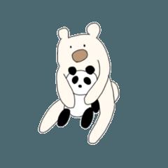 [LINEスタンプ] 抱き枕のくまじ (1)