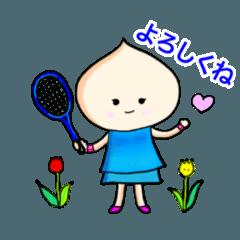 チューリップちゃんのテニスライフ