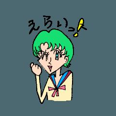 [LINEスタンプ] 昔覚えた女の子の描き方スタンプ (1)