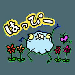 [LINEスタンプ] 羊のローザたち (1)