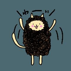 もっさりネコのモスコ
