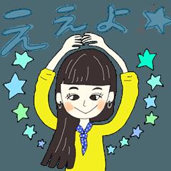 頑張る関西女子と時々トイプーVol.01