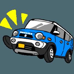 [LINEスタンプ] うちの車! (1)