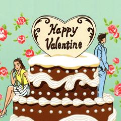 わたせせいぞう Valentineスタンプ