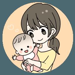 ママと赤ちゃんの日常