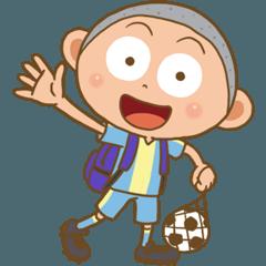 ジュニアサッカーの1日(朝から晩まで)