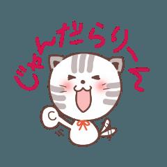 [LINEスタンプ] 三河弁じゃんだらりーん! (1)