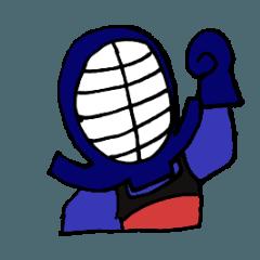 剣道で使えるスタンプ