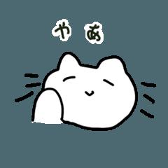 右手を使わずに描いた猫