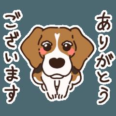 [LINEスタンプ] あほいぬみかん【敬語】 (1)