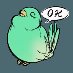 とりがかわいいスタンプ Bird_Sticker