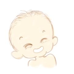 [LINEスタンプ] 赤ちゃんのようにリアクションしよう (1)