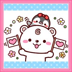 シロクマろっくん2【返信便利セット】