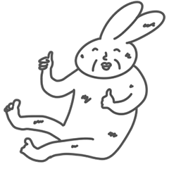 貧しいウサギ
