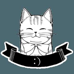 アンティーク猫