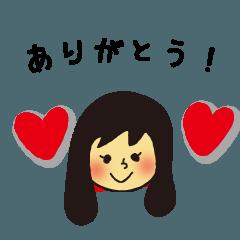 ロングヘアの女の子~タメ口~