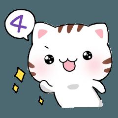 ゆるゆる猫スタンプ4