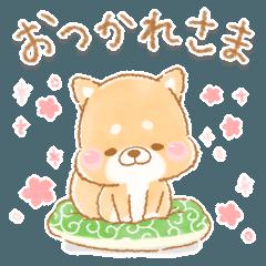 [LINEスタンプ] 使える2❤️いやしばいぬ❤️13 ダジャレ入り (1)