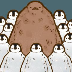 オウサマペンギンのヒナ・きんちゃん