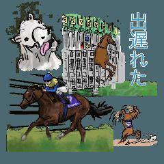 競馬&馬スタンプ