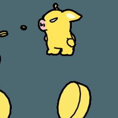 黄金の猪 トンサク