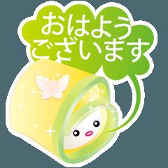 和菓子ちゃん-春の和菓子シリーズ