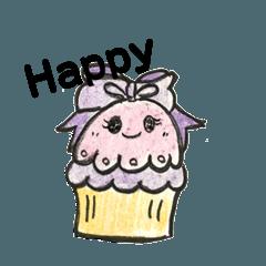 ゆる可愛いお菓子の日常会話