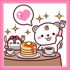 シロクマろっくん3【友達セット】