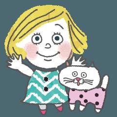 オトナ女子 ケイト・ハートの日常会話